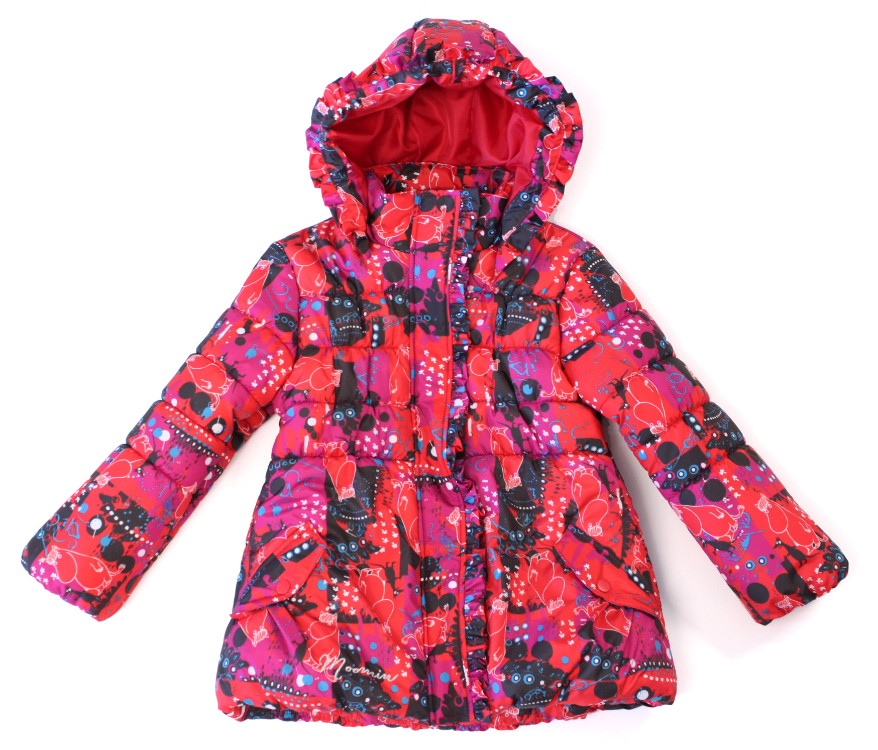 Nipeco girls padded jacket Maikki